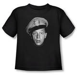 Toddler: Andy Griffith - Barney Head T-shirts