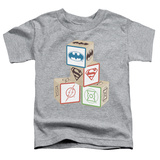 Toddler: Justice League - Baby Block T-Shirt