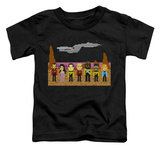 Toddler: Star Trek - TNG Trexel Crew T-shirts