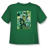 Toddler: Green Lantern - Green Lantern Panels T-shirts