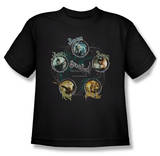 Youth: Sucker Punch - Circles T-shirts