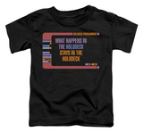 Toddler: Star Trek - Holodeck Secrets Shirts