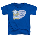 Toddler: Garfield - Deserve To Be Spoiled Shirts