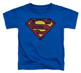 Toddler: Superman - Charcoal Shield Shirts