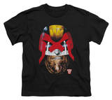 Youth: Judge Dredd - Dredd's Head T-Shirt