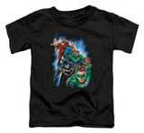 Toddler: Justice League - Heroes Unite Shirt