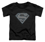 Toddler: Superman - Checkerboard T-Shirt