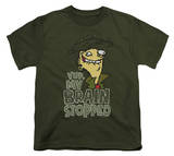 Youth: Ed, Edd n Eddy - Brain Dead Ed Shirts