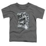 Toddler: Justice League- Atmospheric T-shirts