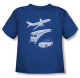 Toddler: Planes, Trains and Automobiles - Planes Trains And Autos T-shirts