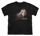 Youth: Les Miserables - Cosette Face T-shirts