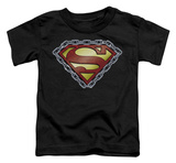 Toddler: Superman - Chained Shield T-shirts