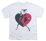 Youth: Batman - Harely Heart T-Shirt