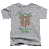 Toddler: Green Lantern - Keeping It Green T-Shirt