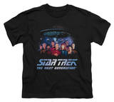 Youth: Star Trek - Space Group Shirts