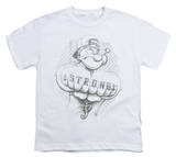 Youth: Popeye - Strong T-shirts