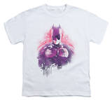 Youth: Dark Knight Rises - Spray Bat T-Shirt