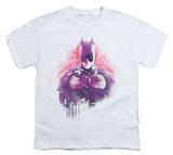 Youth: Dark Knight Rises - Spray Bat T-Shirt