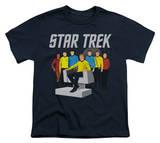 Youth: Star Trek - Vector Crew Shirts