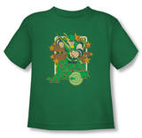 Toddler: Green Arrow - Green Arrow Stars Shirt
