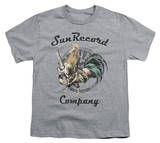 Youth: Sun Records - Rockin Rooster Logo T-Shirt