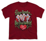 Youth: I Love Lucy - Dear Santa T-shirts