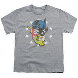 Youth: Justice League - Face Off Shirts