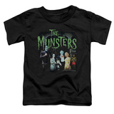 Toddler: The Munsters - 1313 50 Years T-shirts