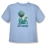 Toddler: Gumby - Go Green T-shirts