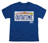 Youth: Back To The Future - Outatime Plate Shirts