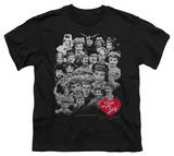 Youth: I Love Lucy - 60 Years Of Fun T-shirts