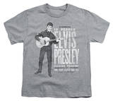 Youth: Elvis Presley - In Person T-shirts