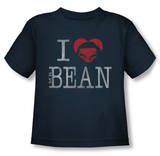 Toddler: Mr Bean - I Heart Mr Bean Shirts