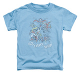 Toddler: Justice League - Go Fight Win Shirt