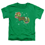 Toddler: Grandma Got Run Over By A Reindeer - Naughty Or Nice Shirts
