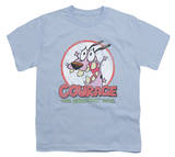 Youth: Courage The Cowardly Dog - Vintage Courage Shirt