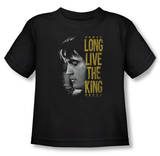Toddler: Elvis Presley - Long Live The King T-Shirt
