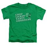Toddler: Puss N Boots - Chop Lickin Tasty Goodness T-Shirt