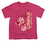 Youth: Courage The Cowardly Dog - Running Scared T-Shirt