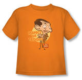 Toddler: Mr Bean - Respect The Teddy T-shirts