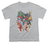 Youth: Justice League - Refuse To Give Up T-Shirt