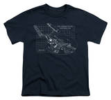 Youth: Star Trek - Enterprise Prints T-Shirt