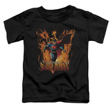 Toddler: Superman - Through The Fire T-shirts