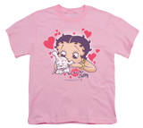 Youth: Betty Boop - Puppy Love Shirts