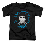 Toddler: Star Trek - Almost Smile T-shirts
