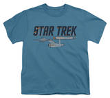 Youth: Star Trek - Entreprise Logo T-Shirt