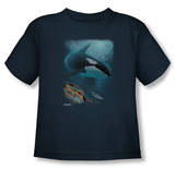 Toddler: Wildlife - Salmon Hunter Orca T-Shirt