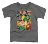 Toddler: Justice League - Hero Boxes Shirts