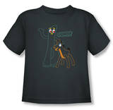 Toddler: Gumby - Outlines T-shirts