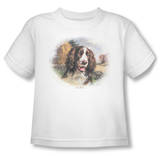 Toddler: Wildlife - Springer Spaniel Head T-Shirt